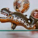 陶器のクジラ