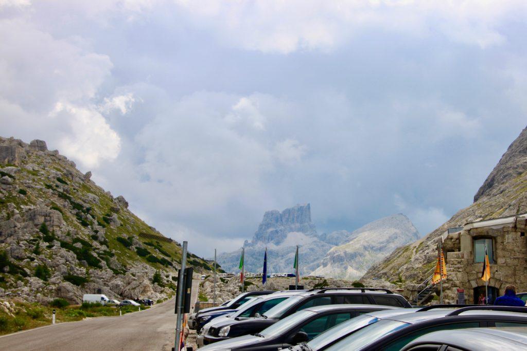 ファルティレーゴ峠から見るクロダダラーゴ