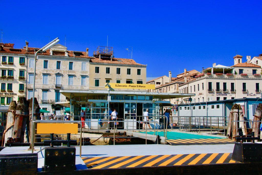 サン・マルコ広場のヴァポレット乗り場