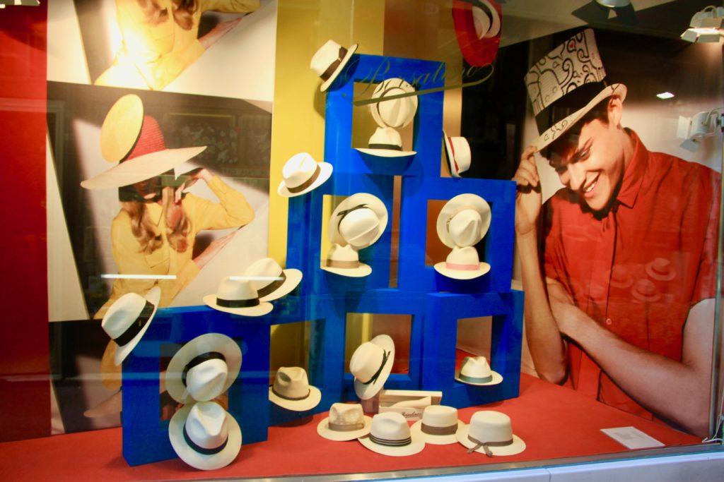 帽子屋のディスプレイ