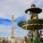 コンコルド広場の噴水