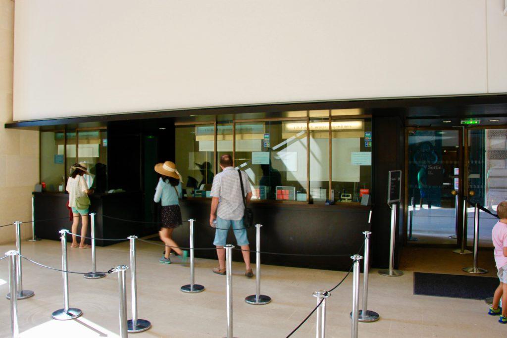 ポルト・デ・リオンのチケット販売窓口