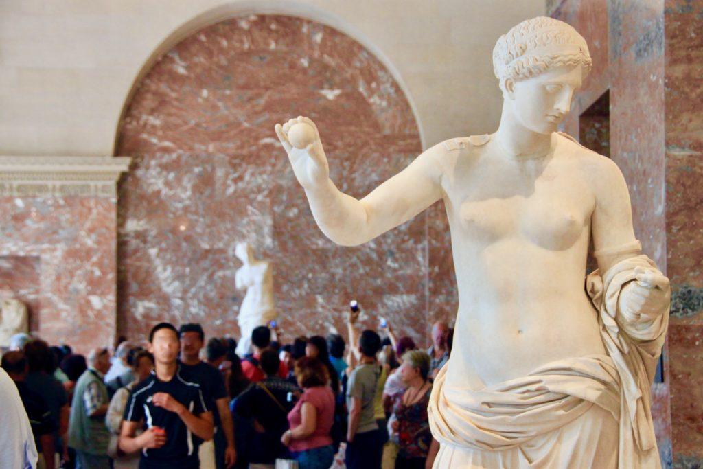 ギリシャ彫刻のコーナー