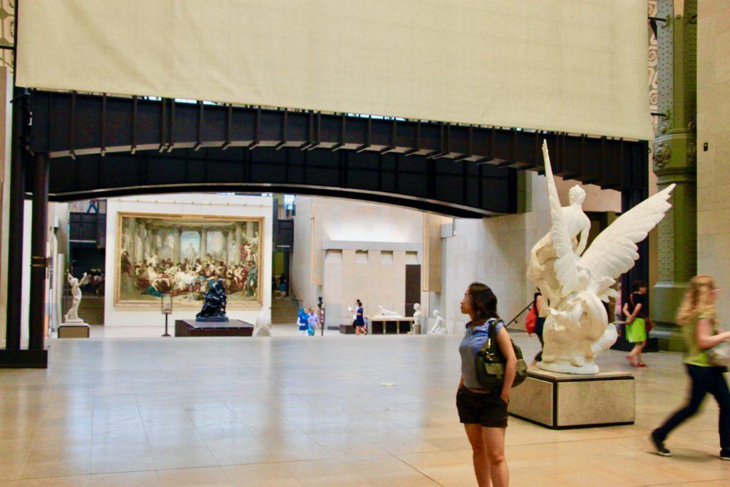 1階にある19世紀以前のフランスアートの展示コーナー