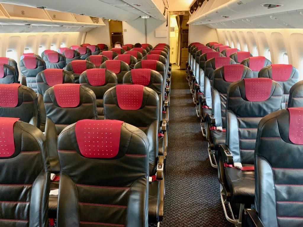 JALの機内