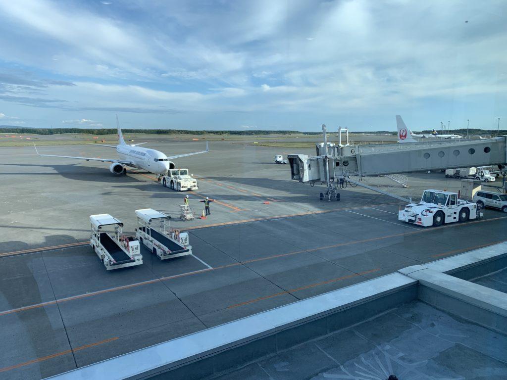 新千歳空港の滑走路