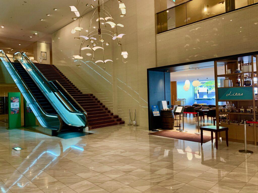 旭川アートホテルのロビー