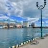 釧路漁港と幣舞橋