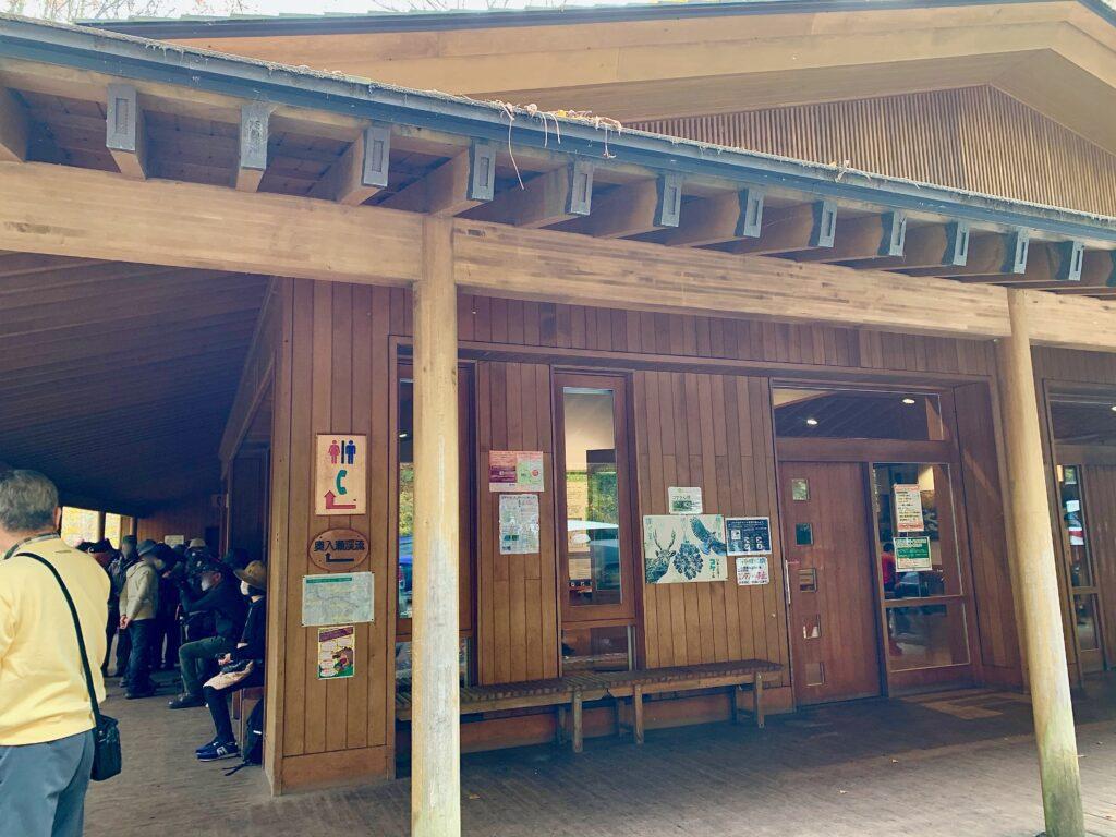 石ヶ戸休憩所の奥入瀬渓流ビジターセンター