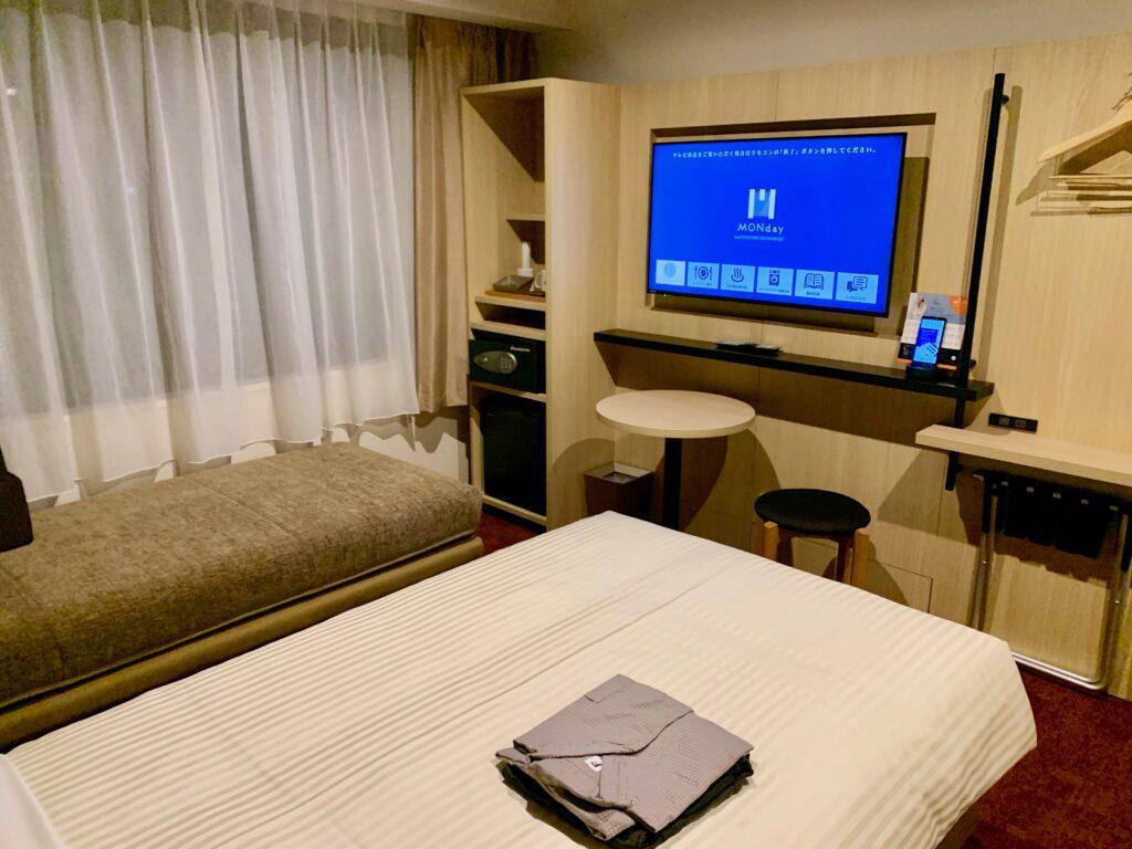 hotel MONday Premium 京都駅東九条の客室