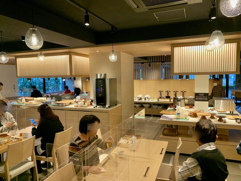 hotel MONday Premium 京都駅東九条の朝食レストラン