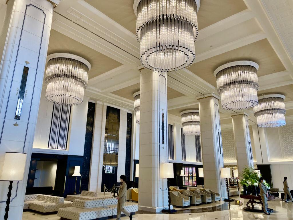 リーベルホテルアットユニバーサルスタジオジャパンのフロントロビー