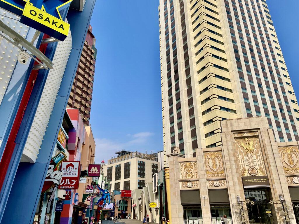 ユニバーサルシティーウォークとザパークフロントホテルアットユニバーサルスタジオジャパン