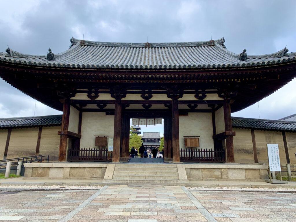 法隆寺の南大門