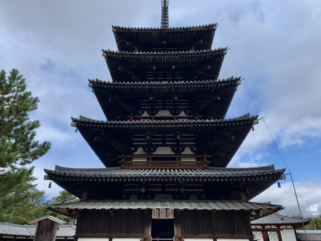 世界最古の五重塔