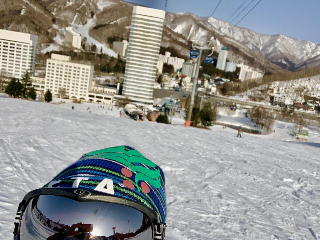 苗場スキー場と苗場プリンスホテル