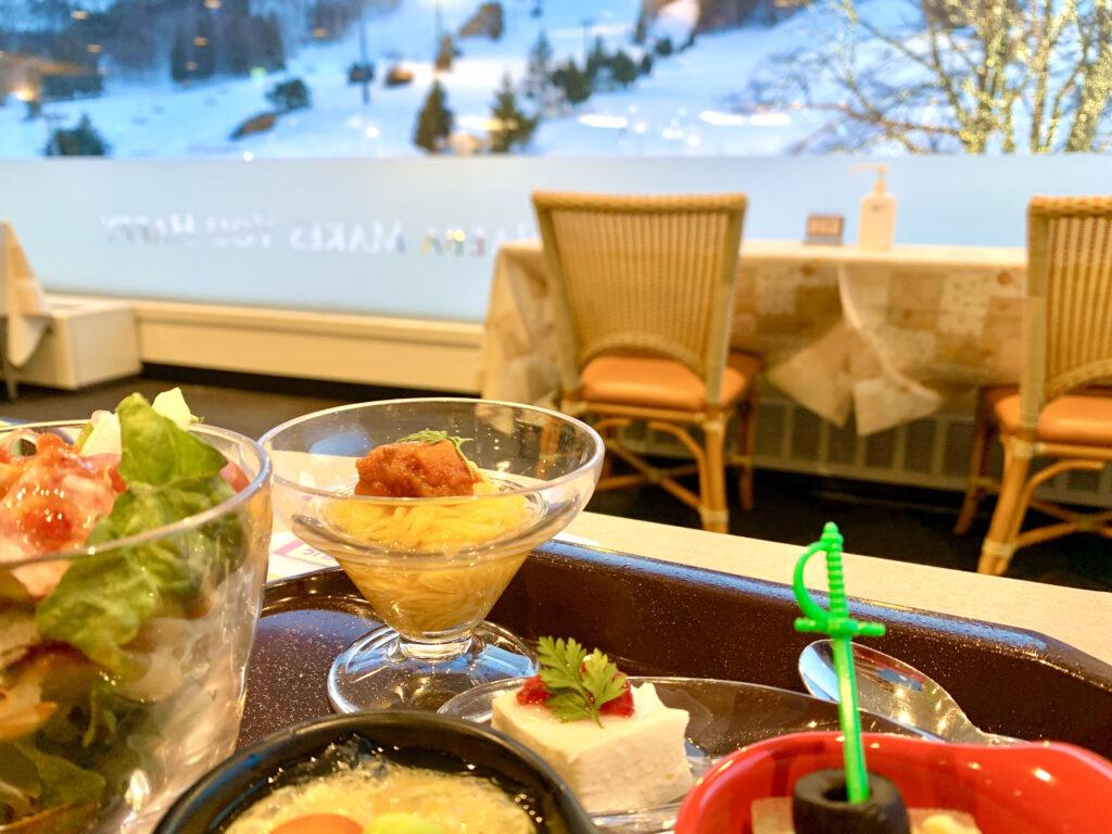 苗場プリンホテルのレストラン