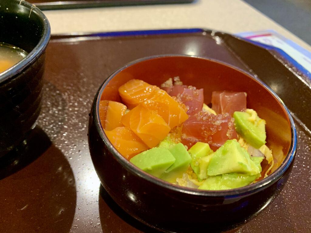 サーモン&マグロ&アボガド丼