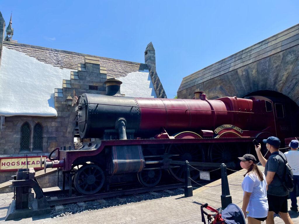 ホグワーツエクスプレスの機関車