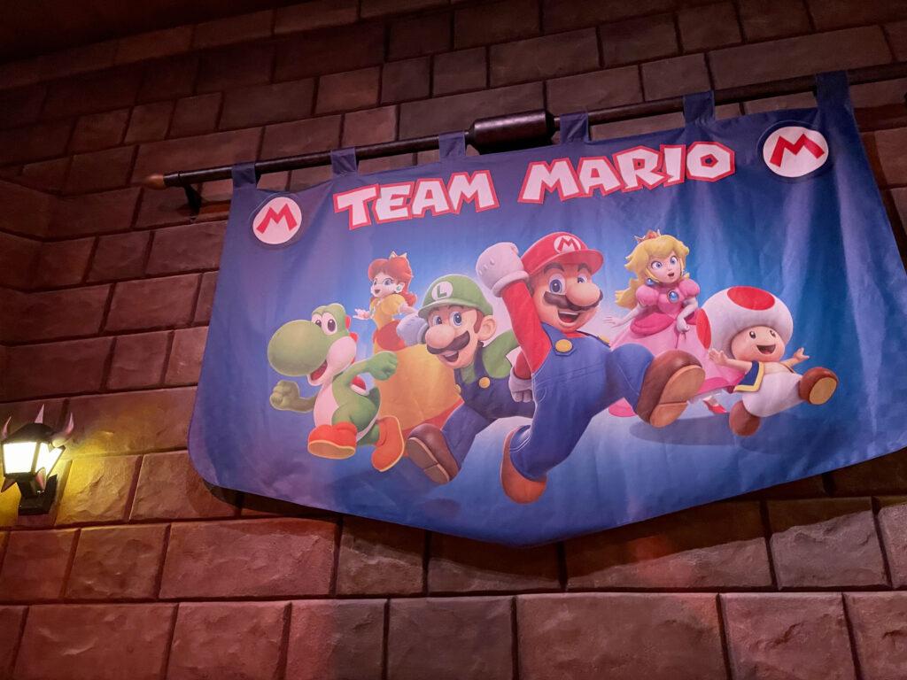 チームマリオのフラッグ
