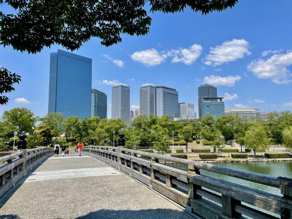 大阪ビジネスパークの高層ビル群